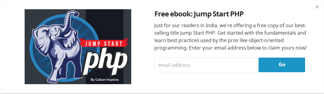 Free ebook Jump Start PHP